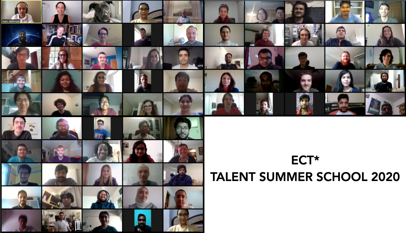 ECT* TALENT Summer School students.